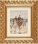 52603 Painting Edouard Jean Baptiste Detaille Frenc