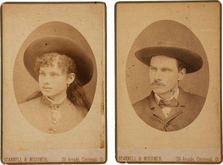 44001: Annie Oakley & Frank Butler: A Rare Pair of Earl
