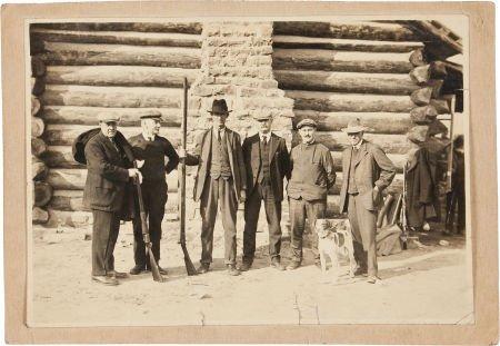 44023: Frank Butler: Original Pinehurst, N.C. Photo wit