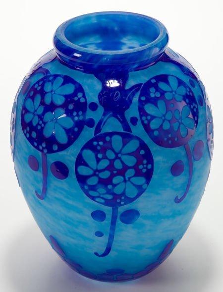 89078: A SCHNEIDER LE VERRE FRANCAIS GLASS AZURETTES VA - 2