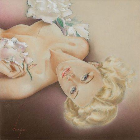 78234: ALBERTO VARGAS (American, 1896-1982) Glamour Pin