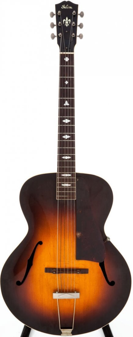 54005: 1937 Gibson L-4 Sunburst Acoustic Guitar, Serial