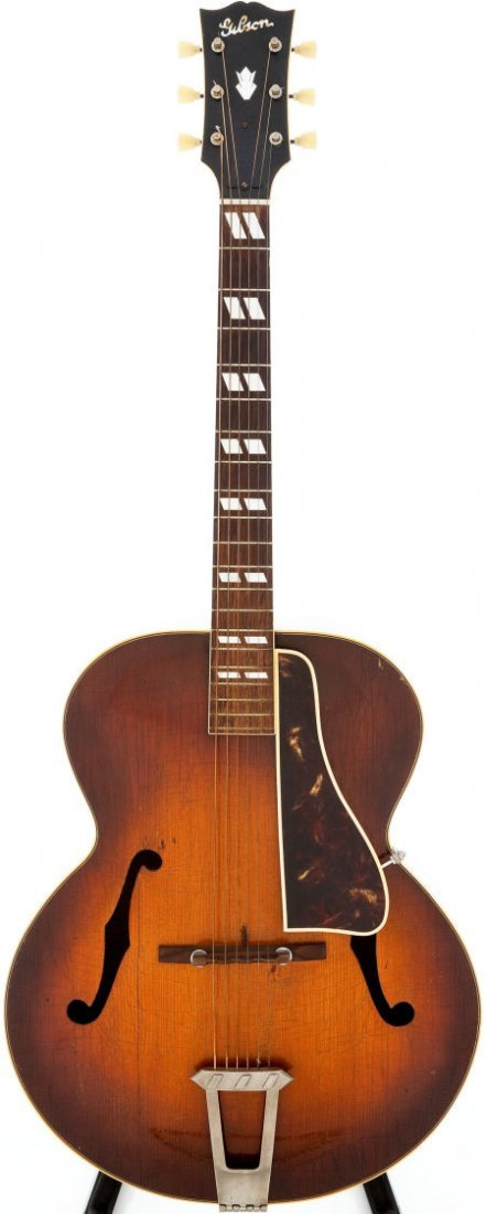 54009: 1947 Gibson L-7 Sunburst Acoustic Guitar, Serial