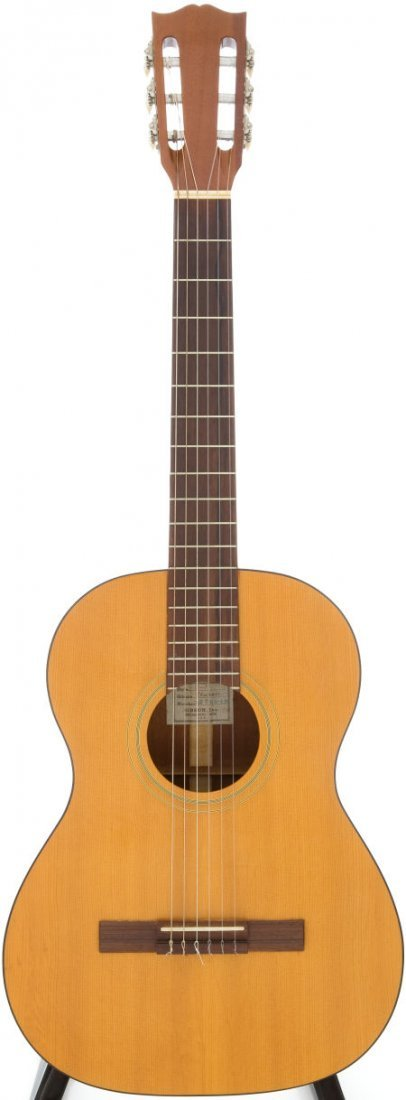 54017: 1957 Gibson C-1S Natural Acoustic Guitar, Serial