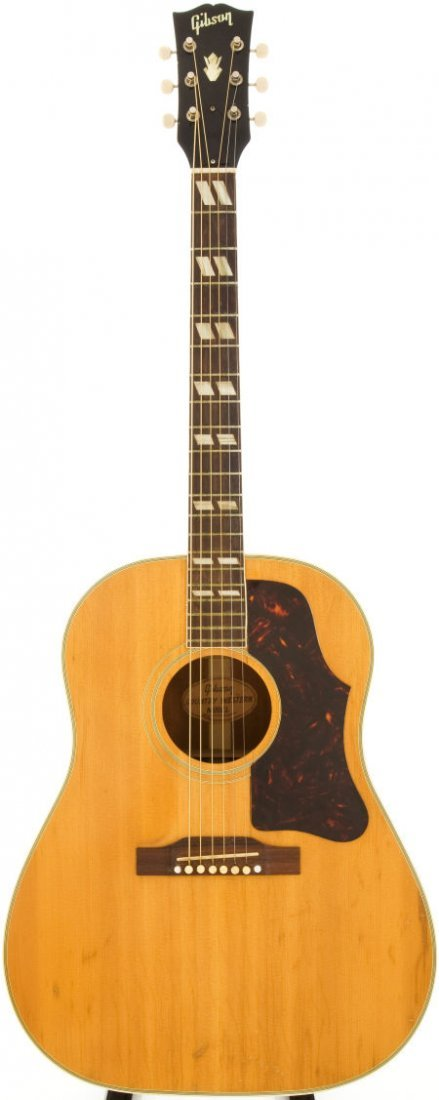 54021: 1960 Gibson Country Western Natural Acoustic Gui