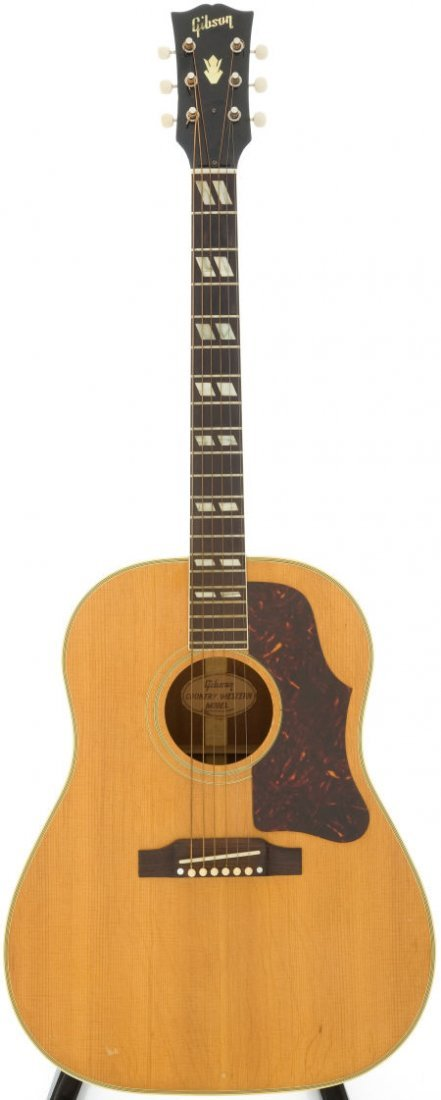 54022: 1961 Gibson Country Western Natural Acoustic Gui