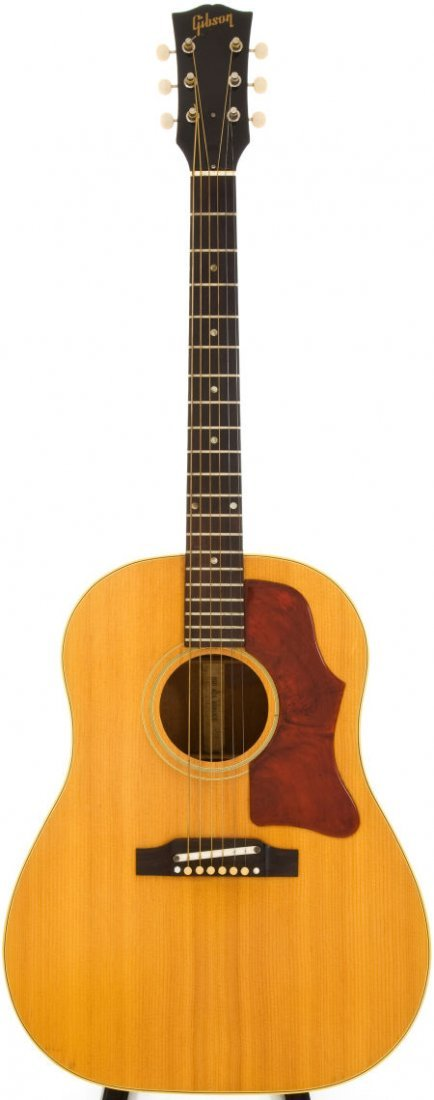 54024: 1964 Gibson J-50 Natural Acoustic Guitar, Serial