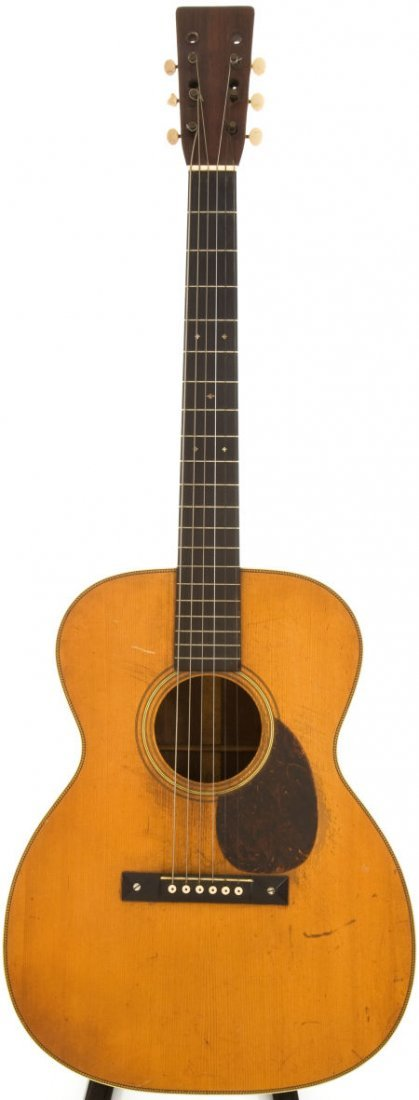 54051: 1930 Martin OM-28 Natural Acoustic Guitar, Seria