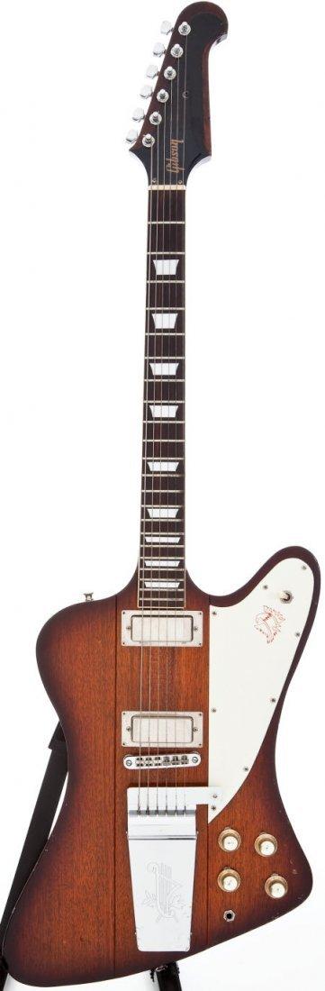 54259: 1970s Ibanez Firebird Lawsuit Copy Sunburst Soli