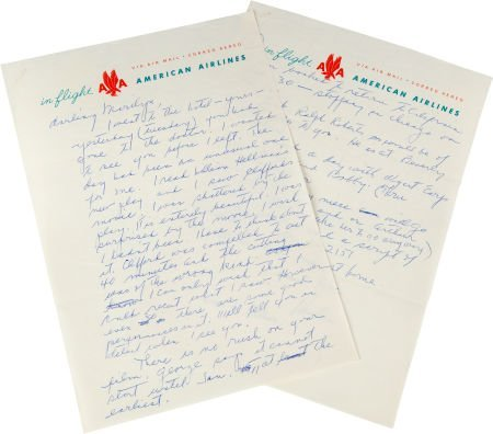 46010: A Marilyn Monroe-Received Letter from an Associa