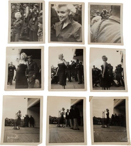 46018: A Marilyn Monroe Group of Never-Before-Seen Blac