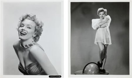 46020: Two Marilyn Monroe Black and White Publicity Pho