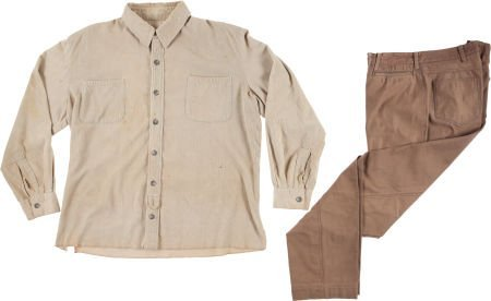 """46039: A John Wayne Costume from """"The Undefeated."""""""
