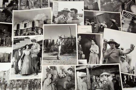 A John Wayne Signed Photograph Plus a Collection