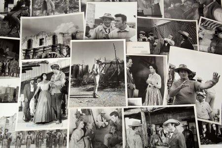 46056: A John Wayne Signed Photograph Plus a Collection