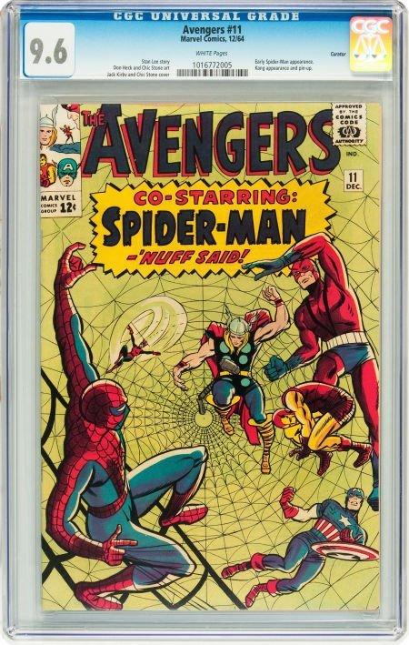 91011: The Avengers #11 Curator pedigree (Marvel, 1964)