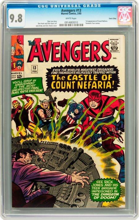 91013: The Avengers #13 Twin Cities pedigree (Marvel, 1