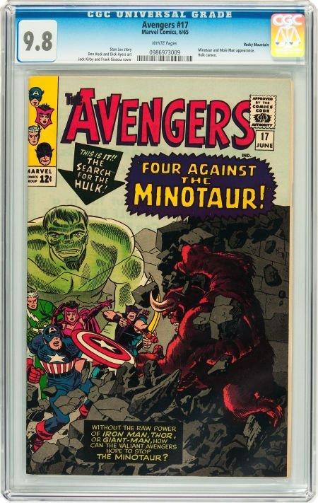 91017: The Avengers #17 Rocky Mountain pedigree (Marvel