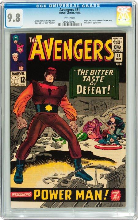 91021: The Avengers #21 (Marvel, 1965) CGC NM/MT 9.8 Wh