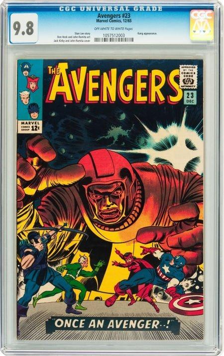 91023: The Avengers #23 (Marvel, 1965) CGC NM/MT 9.8 Of