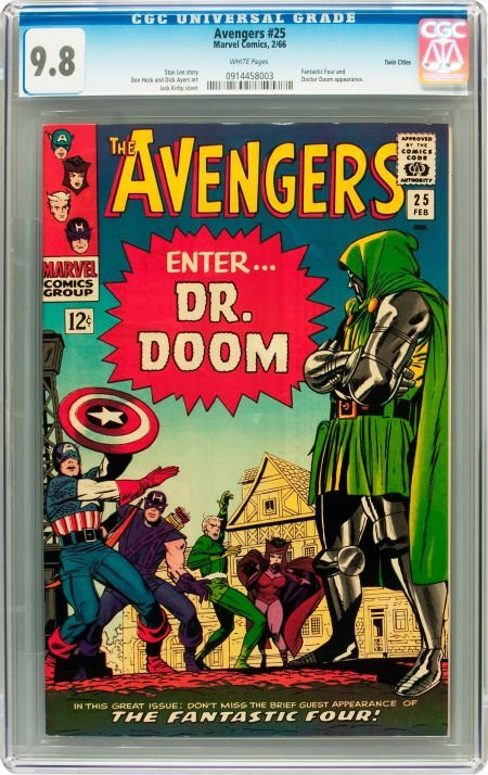 91024: The Avengers #25 Twin Cities pedigree (Marvel, 1