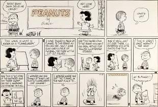 92264: Charles Schulz Peanuts Sunday Comic Strip Origin