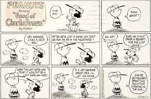 92267: Charles Schulz Peanuts Sunday Comic Strip Origin