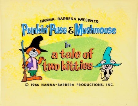 92414: Punkin' Puss and Mushmouse Episode Title Card Or