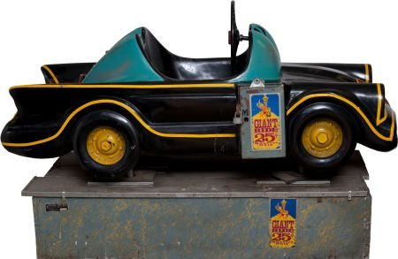 93603: Batmobile Giant Coin-Operated Ride (ca. 1960s).