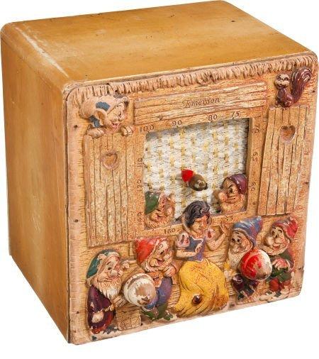 93607: Snow White and the Seven Dwarfs Table Radio (Eme