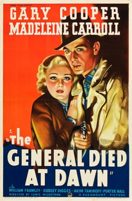 83001: The General Died at Dawn (Paramount, 1936). One