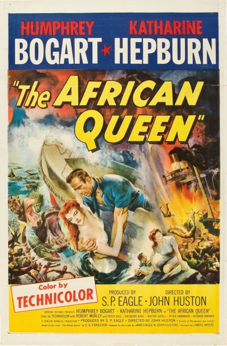 83002: The African Queen (United Artists, 1952). One Sh