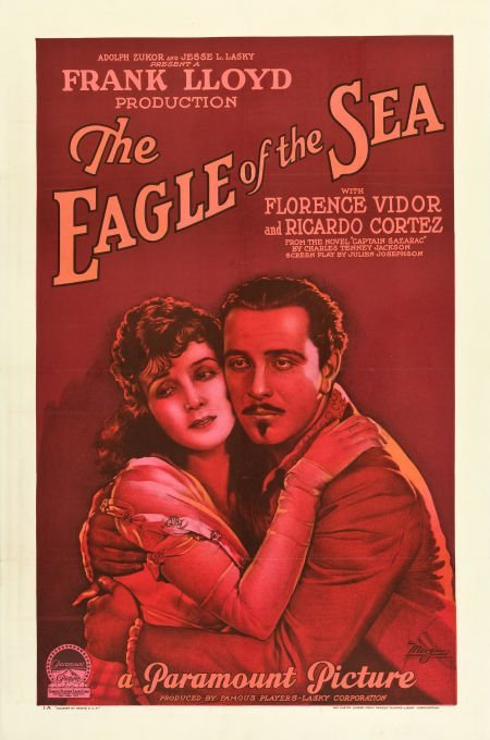 83004: The Eagle of the Sea (Paramount, 1926). One Shee