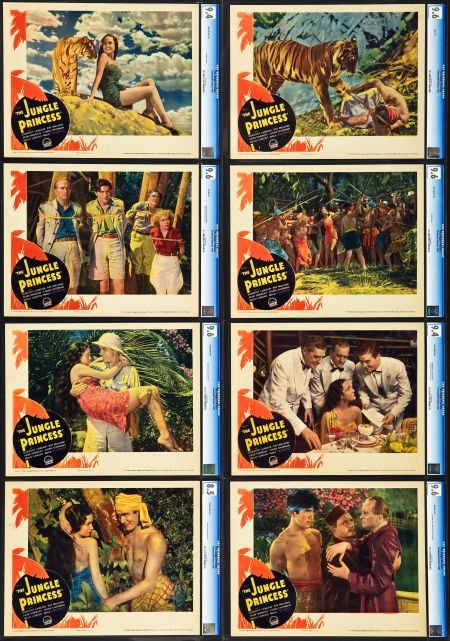 83005: The Jungle Princess (Paramount, 1936). CGC Grade