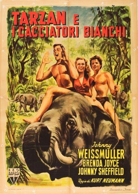 83009: Tarzan and the Huntress (RKO, 1947). Italian 2 -