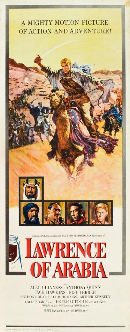 "83014: Lawrence of Arabia (Columbia, 1962). Insert (14"""