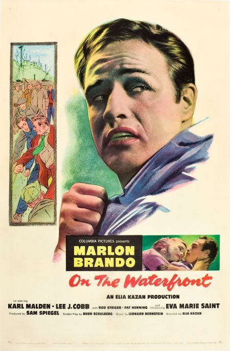 83016: On the Waterfront (Columbia, 1954). One Sheet (2