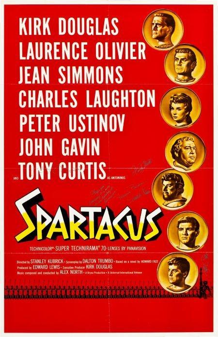 83017: Spartacus (Universal International, 1960). Roads