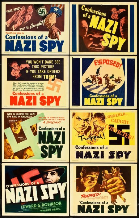 83019: Confessions of a Nazi Spy (Warner Brothers, 1939