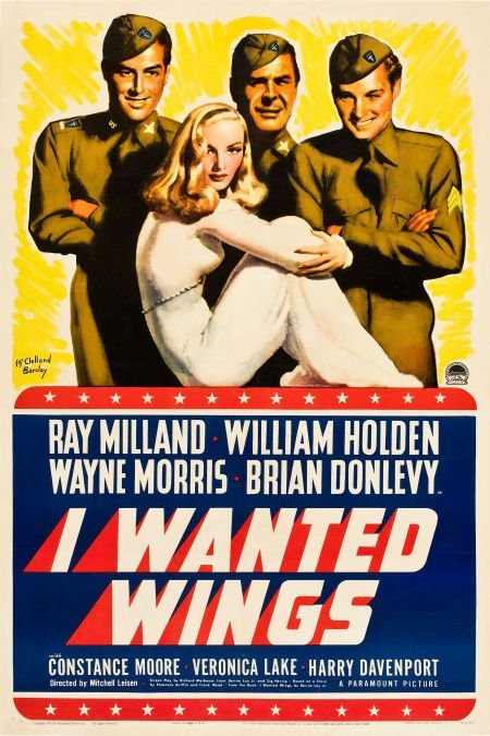 """83023: I Wanted Wings (Paramount, 1941). One Sheet (27"""""""