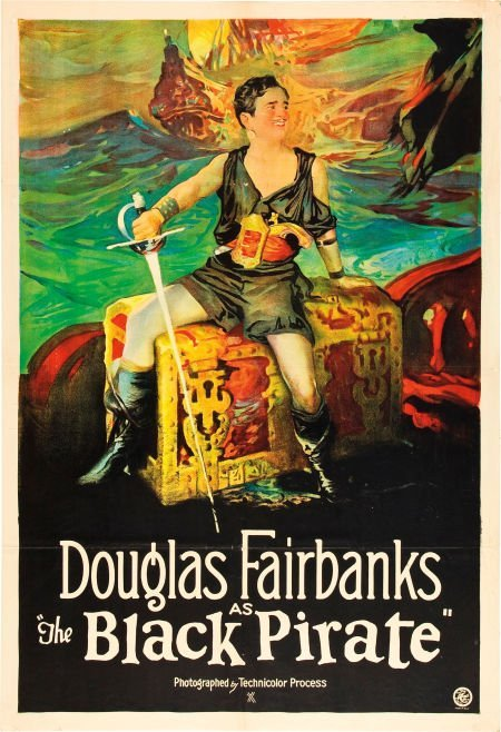 83024: The Black Pirate (United Artists, 1926). One She