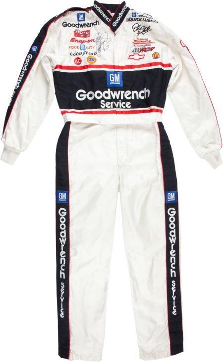 80116: 1995 Dale Earnhardt NASCAR Race Worn Fire Suit f