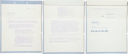 46015: Elvis Presley Signed Contract for Easy Come, Eas