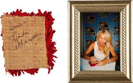 46111: Elvis Presley Related - Linda Thompson's Black E - 2