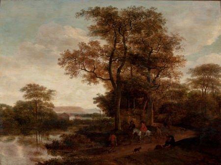 86018: Manner of PIETER JANSZ ASCH (Dutch, 1603-1678) L