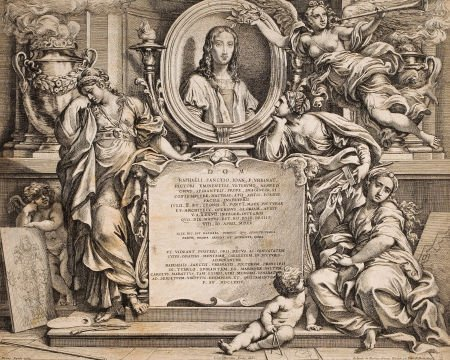 86020: PIETRO AQUILA (Italian, 1592-1692) and CESARE FA