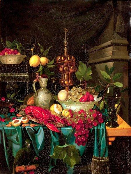 86022: Manner of JAN DAVIDSZ DE HEEM (Dutch, 1606-1684)