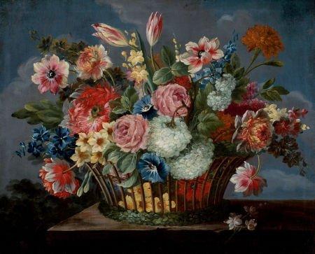86023: Manner of JAN VAN DEN HECKE (Flemish, 1620-1684)