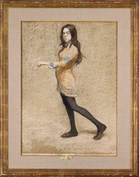 86252: HARVEY DINNERSTEIN (American, b. 1928) Rachel Wa - 2