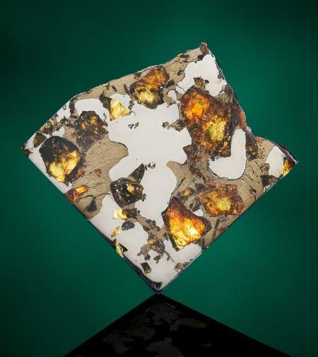 49009: GLORIETA MOUNTAIN METEORITE - PARTIAL SLICE Pall